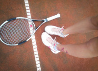 tennis runs in our blood