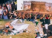 Überleben auf einem Festival