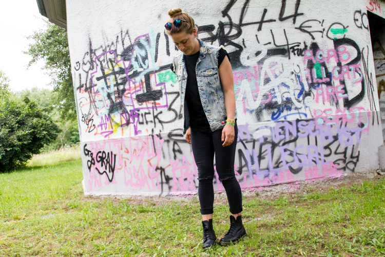 Festival Look mit Dr. Martens 1