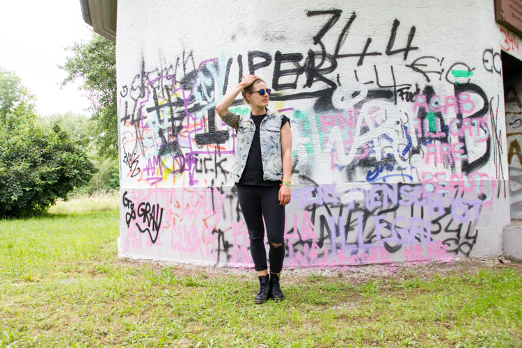 Festival Look mit Dr. Martens 5
