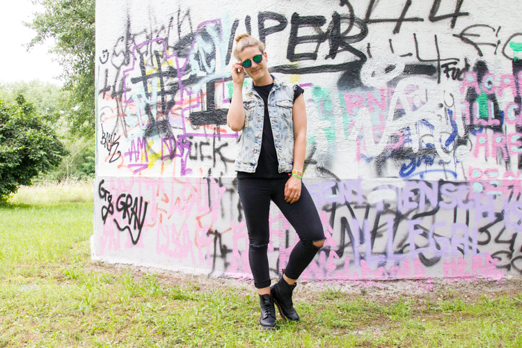 Festival Look mit Dr. Martens 8