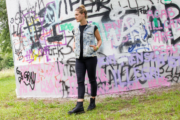 Festival Look mit Dr. Martens 9
