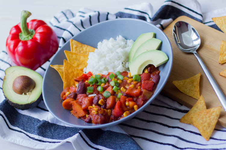 Veganes Chili 1