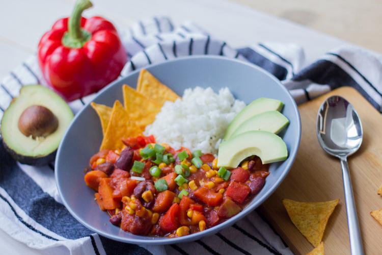 Veganes Chili 3