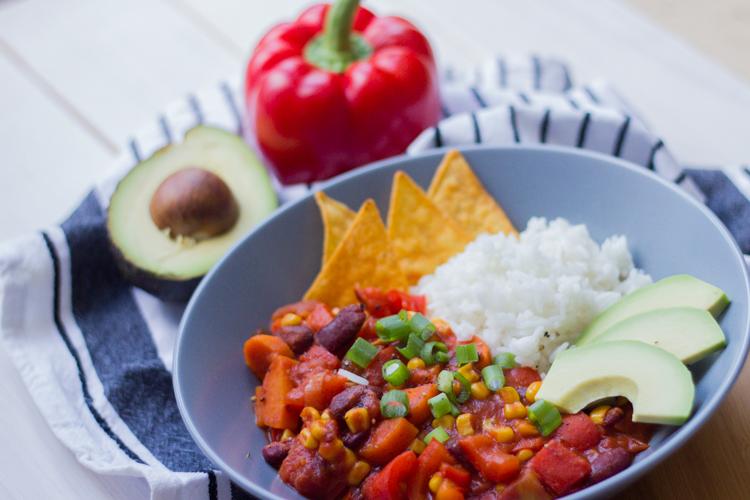Veganes Chili 5