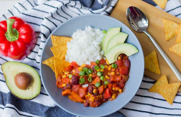 Veganes Chili Beitragsbild