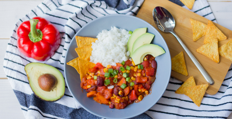veganes chili sin carne gooseberry pictures. Black Bedroom Furniture Sets. Home Design Ideas