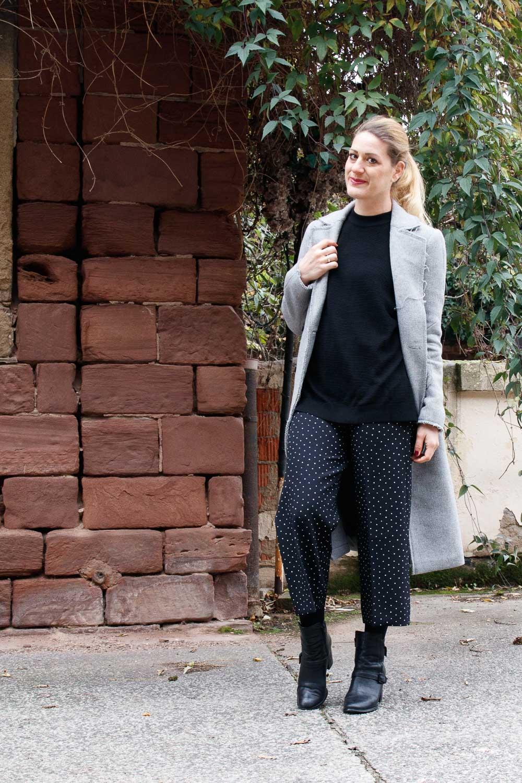 Schön Stiefeletten Kombinieren Foto Von Culottes – Mango || Mantel – Asos